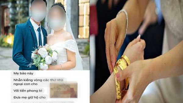 Mới cưới 2 hôm, mẹ chồng nằng nặc đòi 'cầm hộ' của hồi môn, sự thật khiến nàng dâu câm nín