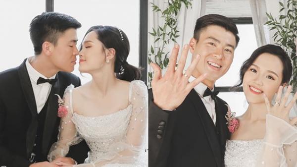 Duy Mạnh - Quỳnh Anh tung ảnh cưới sang xịn trước thềm hôn lễ
