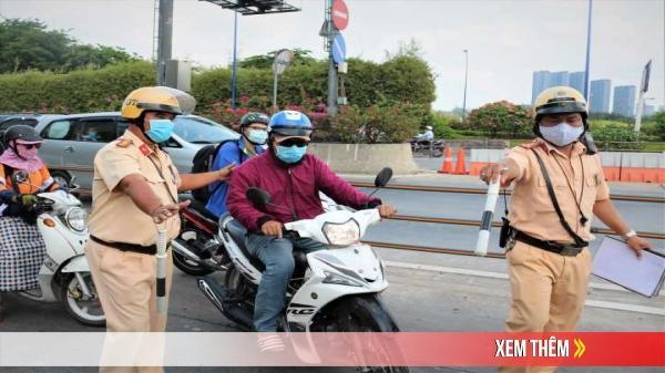 CSGT được phép dừng xe để kiểm soát trong trường hợp nào?