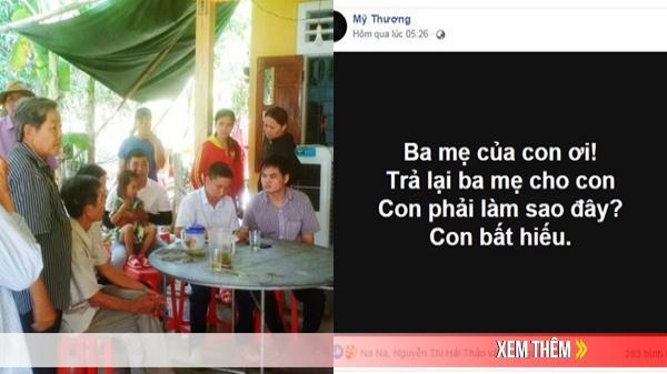Ba mẹ bị điện giật tử vong ở Việt Nam, con gái khóc cạn nước mắt bên Nhật