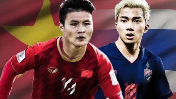 Đội hình chính thức Việt Nam vs Thái Lan: Tiến Linh tiếp tục đá chính