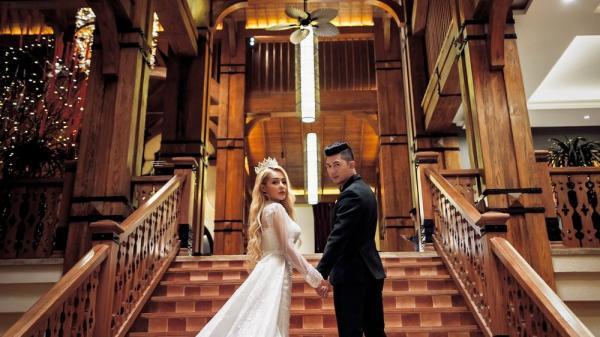Ảnh cưới lãng mạn của Lương Bằng Quang và bạn gái kém 16 tuổi