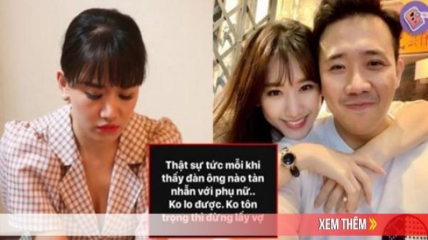 """Hari Won đăng status bức xúc """"đàn ông tàn nhẫn với phụ nữ, không tôn trọng thì đừng lấy vợ"""", chuyện gì đây?"""