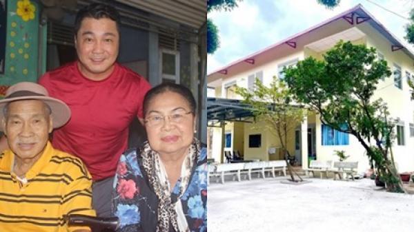 Lý Hùng tặng 500 triệu sửa sang viện dưỡng lão, thực hiện tâm nguyện cuối đời của người cha quá cố