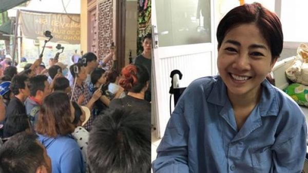 Người dân, YouTuber trà trộn vào tang lễ của Mai Phương quay clip bất chấp lệnh cách ly mùa dịch