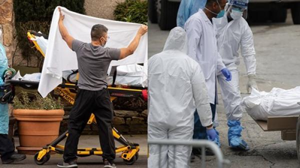 Cứ 2 phút, Mỹ lại có một ca tử vong vì virus corona