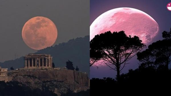 Siêu trăng lớn nhất năm 2020 sẽ xuất hiện vào sáng 8/4