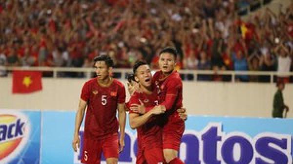 Xếp hạng bảng G vòng loại World Cup: Bất ngờ Việt Nam