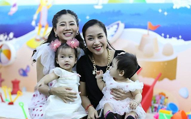 Lavie thường được mẹ cho sang nhà bác Ốc Thanh Vân chơi.