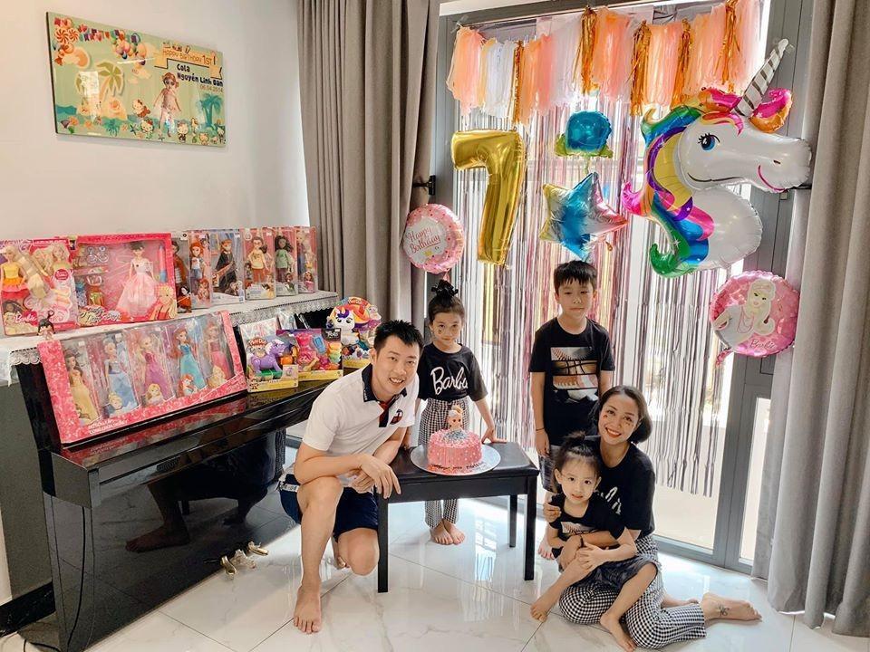 Ốc Thanh Vân tổ chức sinh nhật cho con gái Cola.