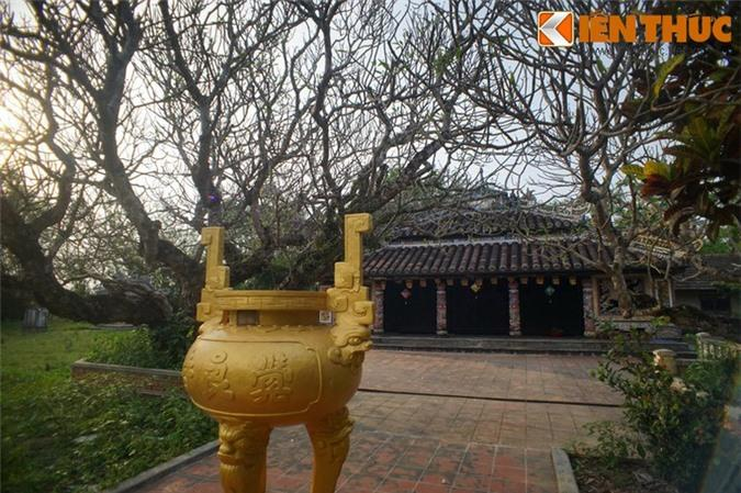 Chùa được xây dựng vào thời Lê trung hưng (thế kỷ 16), do bà Hoàng Thị Phiếu - người Bắc di cư vào – cùng tộc trưởng các dòng họ trong làng Hiền Lương lập ra.