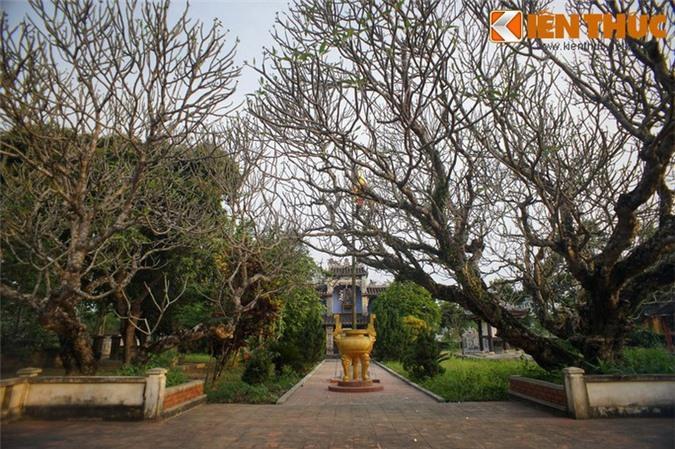Ban đầu, chùa thuộc xóm Cồn Bệ - trung tâm của làng Hiền Lương. Nhưng về sau dân làng với lý do tránh sự tranh chấp đất đai đã dời chùa sang khu đất tiếp giáp với làng Phú Lễ.