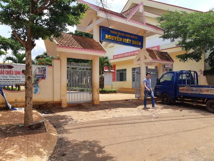 Trường TH Nguyễn Viết Xuân nơi xảy ra tình trạng lạm thu