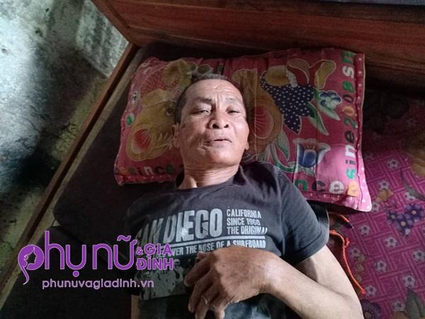 Không vợ, không con lại bệnh tật khiến cuộc sống ông Năm càng thêm cơ cực - Ảnh: Mai Mai